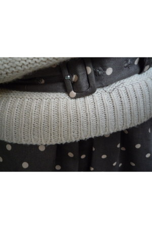 sweater - belt