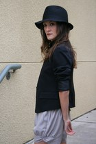 Forever 21 hat - Forever 21 blazer - YSL purse - nikibiki shorts - brian atwood