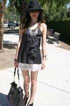 Forever 21 hat - Rebecca Taylor purse - Lani shorts - Michael Kors sunglasses -