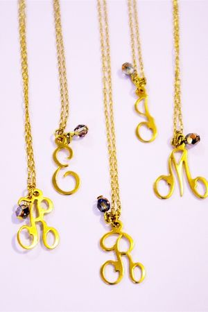 gold Accentuality Jewelry necklace