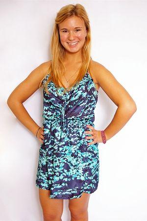 blue eight sixty dress