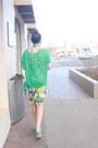Aquamarine-mesh-target-sweater-light-blue-nine-west-purse-yellow-j-lo-skirt