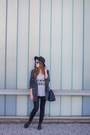 Heather-gray-gina-tricot-coat-black-zara-jeans-navy-michael-kors-bag