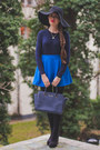 Black-asos-boots-black-h-m-hat-blue-banggood-shirt-navy-michael-kors-bag