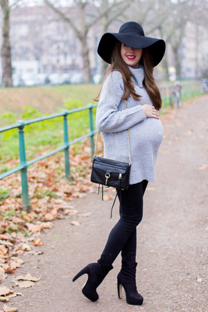 asos hat - black Rebecca Minkoff bag