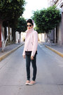 Navy-jeggings-levis-jeans-light-pink-faux-leather-thats-it-jacket