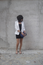 American Apparel dress - H&M blazer - Zara accessories - Tally Weijl accessories