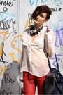 Ivory-h-m-trend-shirt