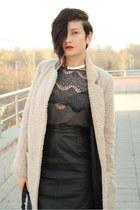 beige H&M Trend coat