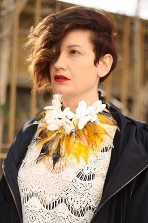 Zara top - Marni at H&M jacket