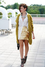 Gold-h-m-skirt-ivory-h-m-shirt