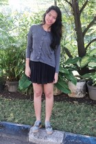 Spiderbit shoes - Urban Outfitters sweater - Topshop skirt