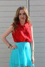 High-low-h-m-skirt-converse-shoes-red-whitney-port-for-bik-bok-shirt