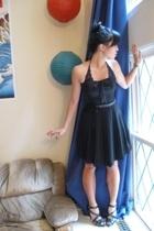 Charlotte Russe - forever 21 top - skirt - Urbanogcom shoes