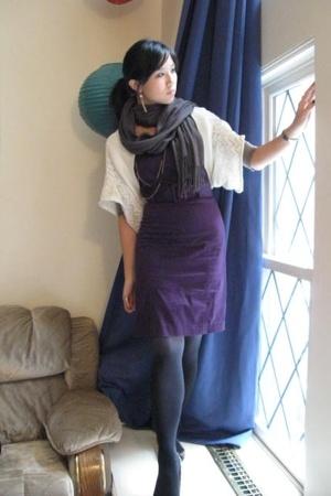 etam dress - - scarf - Target - Steve Madden shoes