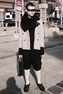 Silver-via-ioffer-sunglasses-black-american-apparel-scarf-white-vintage-blaz