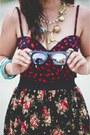 Ray-ban-sunglasses-turquoise-figliarina-sandals