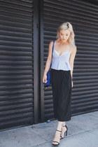 black stuart weitzman heels - black asoscom pants