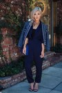 Navy-tweed-jacket-jacket-navy-hermes-bag-navy-jumpsuit-romper