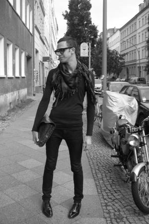 lanvin shoes - vintage purse - vintage glasses - April77 jeans