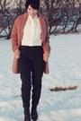 Topshop-coat-mom-jeans-topshop-jeans-h-m-blouse
