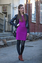 bubble gum dress - black sequined H&M blazer