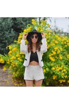 cotton H&M hat