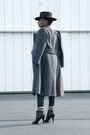 Suede-anne-michelle-boots-grey-wool-bromleigh-coat-western-forever-21-hat