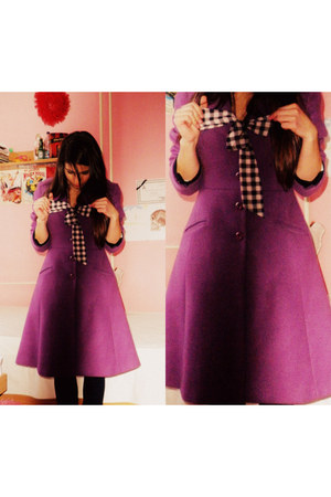 purple myfavourite FandF coat