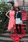 Salmon-emamoda-dress-black-bocage-heels