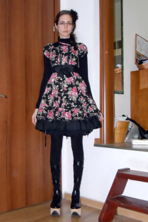 black Bodyline shoes - Pina Sweet dress