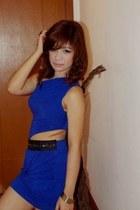 blue Sexy Blue Dress dress