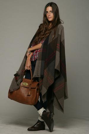 Zara - Mulberry purse - Topshop shirt - vintage shoes