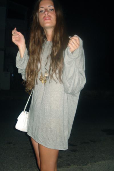 COS dress - Chanel purse