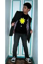 Perry Ellis Signature suit - all stars Shirt shirt - Topman pants - Airwalk shoe