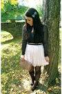 White-forever21-skirt-black-h-m-blouse-pink-forever21-purse-black-urban-ou