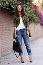 Navy-boyfriend-jeans-zara-jeans-army-green-persunmall-jacket