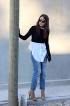Layering your cropped tops