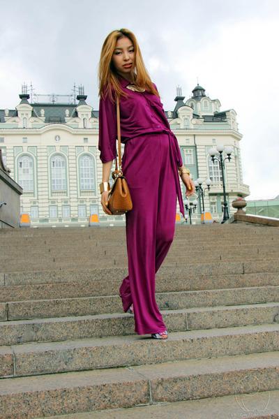 magenta BGN bodysuit