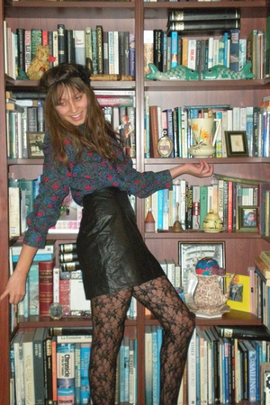 diva accessories - na blouse - na skirt - Sportsgirl stockings