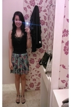 Old Navy top - H&M skirt - random shoes