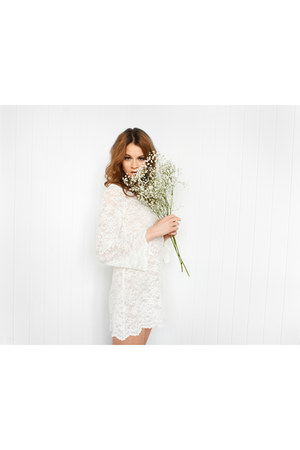 european lace Gina Marie Vintage dress