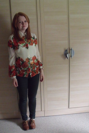 blouse - shoes - pants