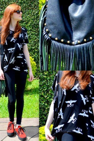 Boy London blouse - Carpisa bag
