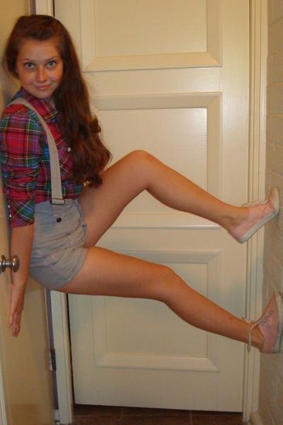 Levis blouse - LF pants - shoes