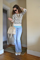 Forever 21 top - hollister top - Aeropostale jeans - coach bag