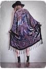 Black-velvet-kimono-girl-on-a-vine-jacket