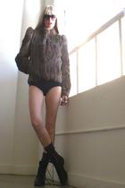 brown GirlOnAVine jacket