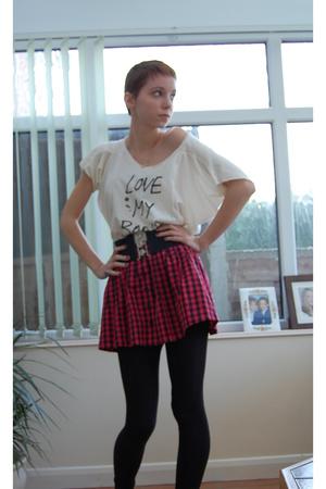 Topshop t-shirt - Topshop skirt