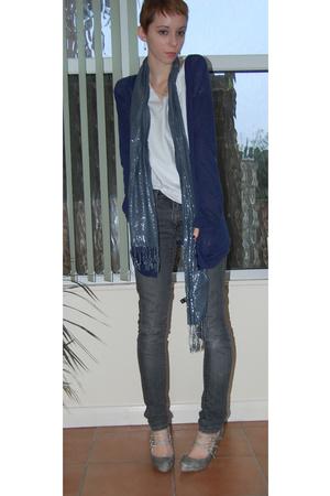 Topshop - H&M jeans - Primark shorts